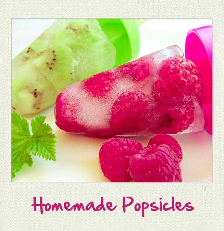#Homemade #Berry and #Kiwi #Popsicles. #Polaroid #PolaroidFx #Frame #Filter #Recipe #Fruit #Summertime #Ice #Yummy #IceCream #Sweet #Food