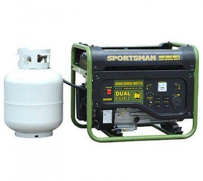 Sportsman GEN4000DF 4000 Watt Dual Fuel Generator With 4000 Surge / 3500 Watts