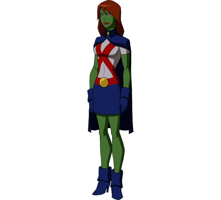 miss martian young justice - kayna's costume