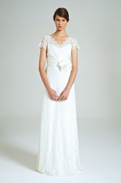 Collette Dinnigan French Lily Lace Gown