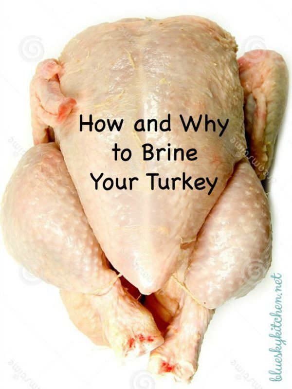 How and Why You Should Brine Your Turkey