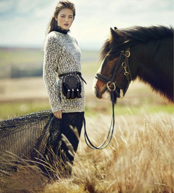 Fashion Editorial | Romantic Fall Fashions | Dust Jacket | Bloglovin'