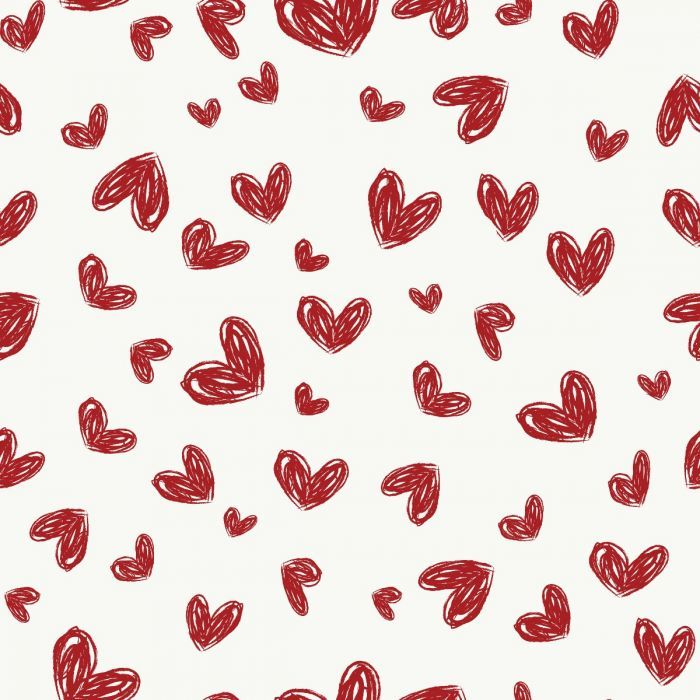 Sketched Hearts Simple Wallpapers Swedish Wallpaper Peel And Stick Wallpaper