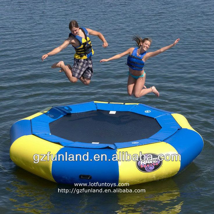 Water Sports - Trampoline Game, Inflatable Jumping Bed $200~$900