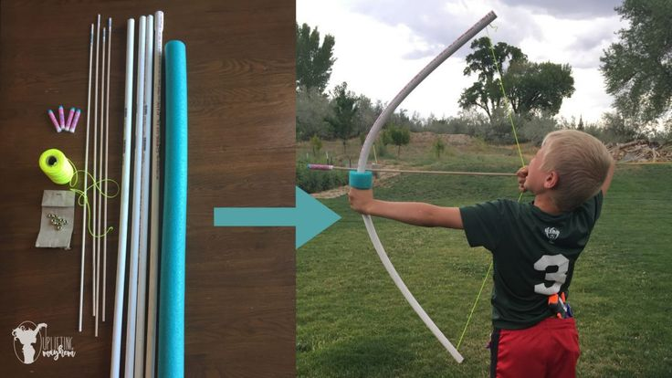 DIY - The ULTIMATE PVC Bow and Arrow!