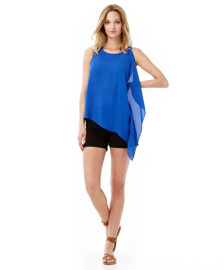 Dazzling blue summer top | Gina Tricot New Arrivals | www.ginatricot.com | #ginatricot
