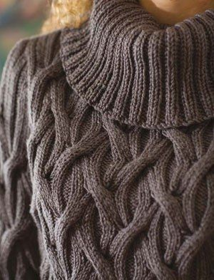 The pattern for the pullover