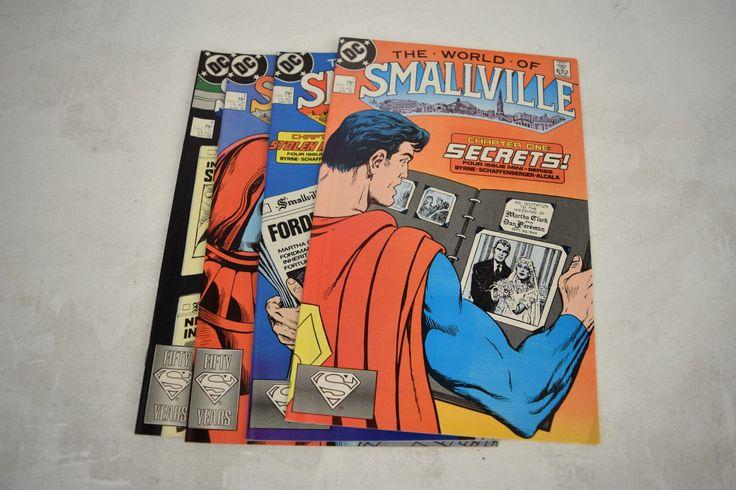 World Of Smallville Comic Books Lot Set 1 2 3 4 VF NM Superman John Byrne