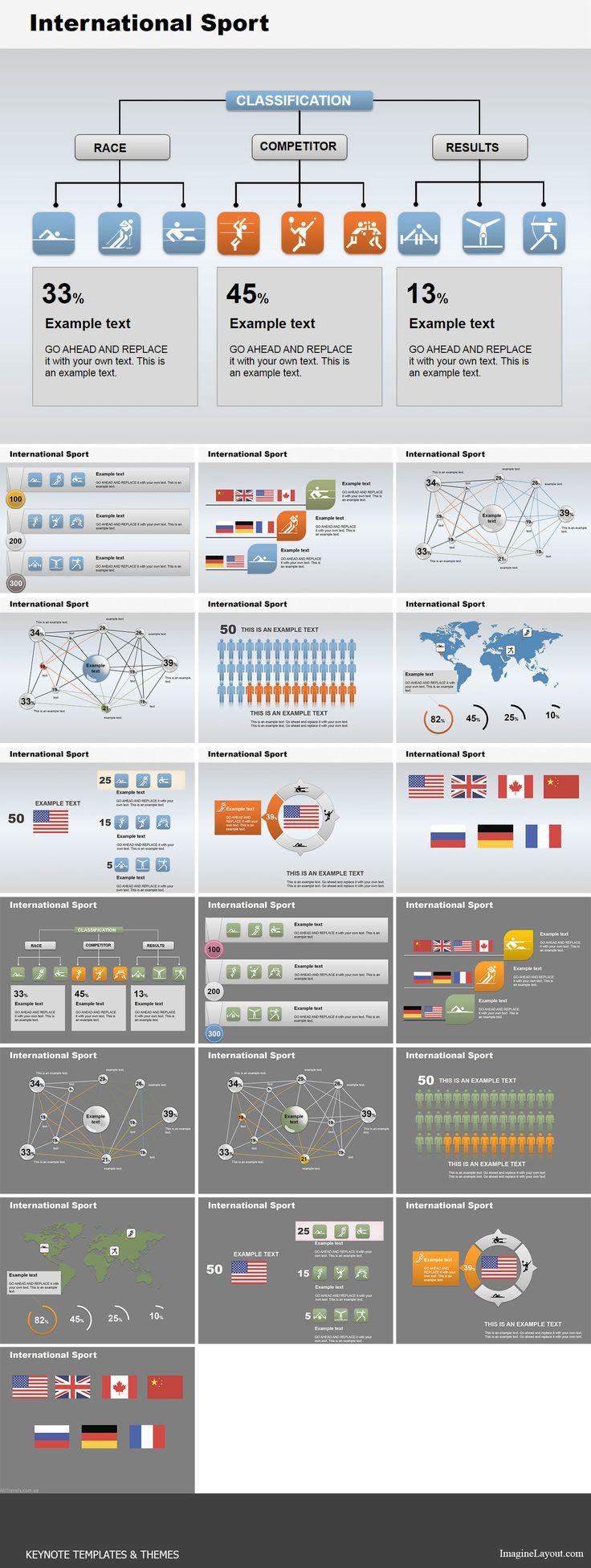 171 besten Keynote Charts Bilder auf Pinterest | Keynote, Vorlagen ...