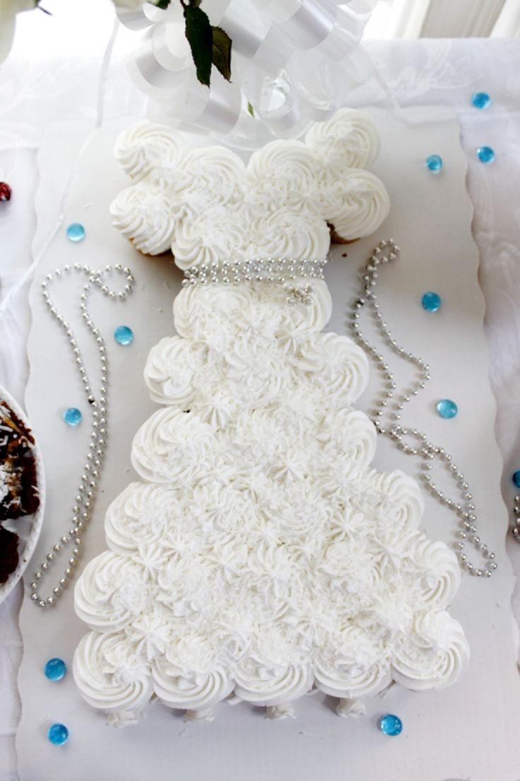Ideas Wedding Dress Cake 1000 ideas about wedding dress cupcakes on pinterest bridal my shower pull apart cupcake cake inspiration only http