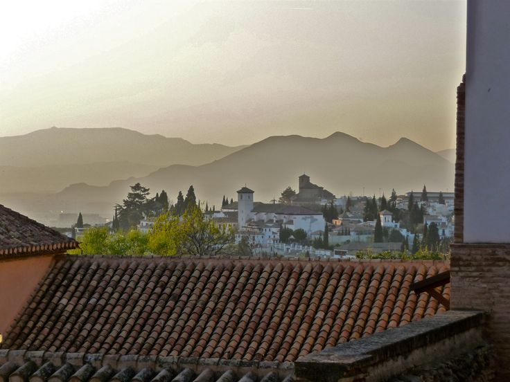 View from El Generalife, Granada, Spain