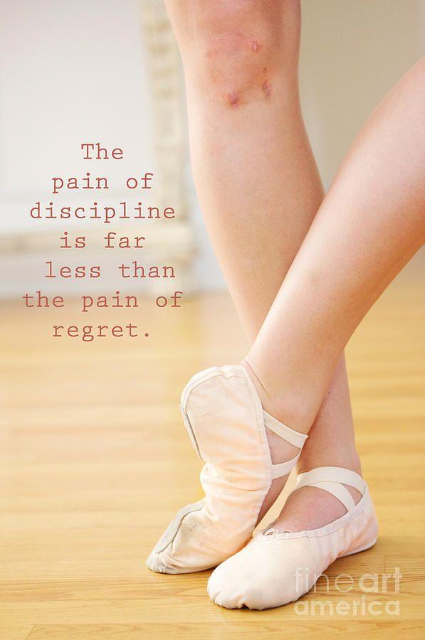 The Pain of Discipline Photograph  - The Pain of Discipline Fine Art Print