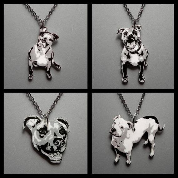 99 best gifts for pit bull or dog lovers images on pinterest dog custom necklace of your pit bull 5 dollars will go to villalobos pit bull rescue aloadofball Gallery