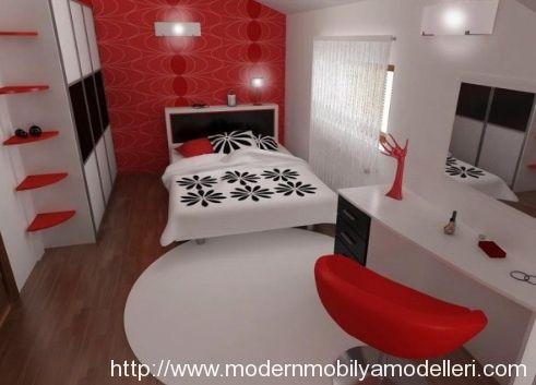 Modern Yatak Odası Dekorasyon Fikirleri