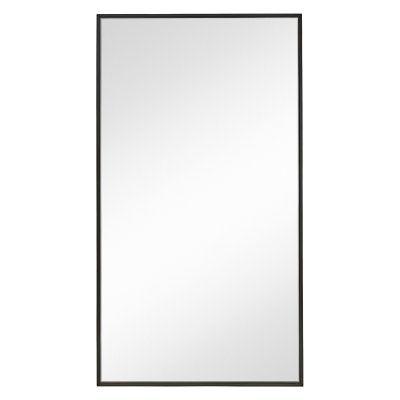 Majestic Mirror Rectangular Wooden Framed Wall Mirror - 42W x 76H in. - 2611-B