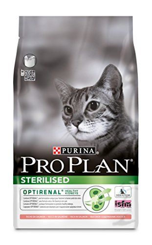 From 15.49:Purina Pro Plan Sterilised Cat Food Optirenal Rich In Salmon 3kg