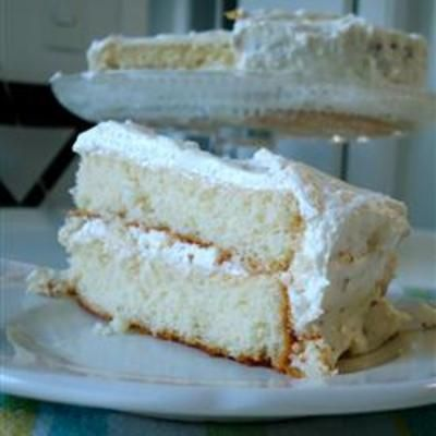 Coconut-Cream Cheese Frosting: Cream Cheese Frostings, Frostings Recipe, Coconut Cream Cheese, Cream Chee Frostings, Coconut Frostings, White Cakes, Coconutcream Chee, Food Cakes, Cream Cheeses