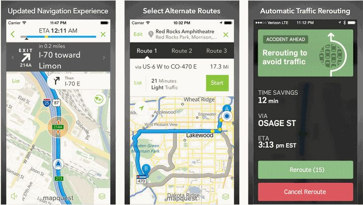how to turn navigation on iphone