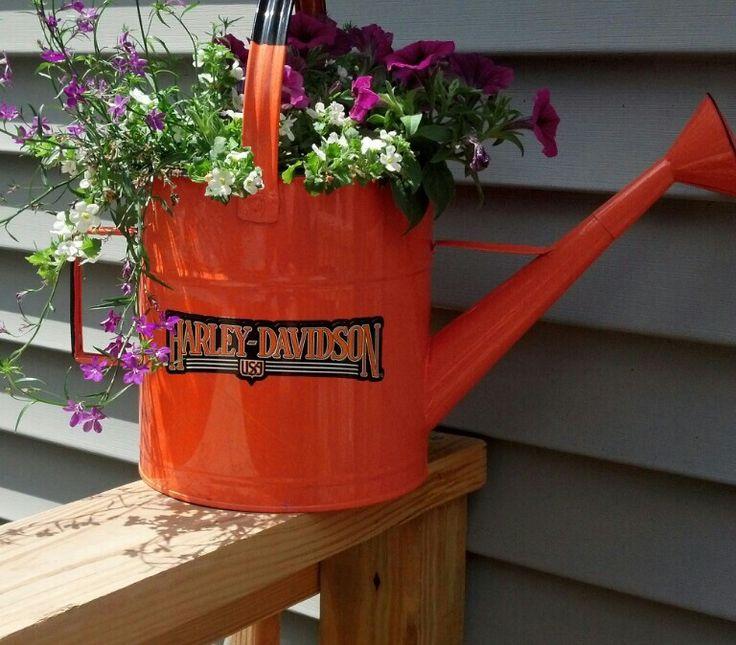 37 Best Images About Harley Davidson Garden On Pinterest