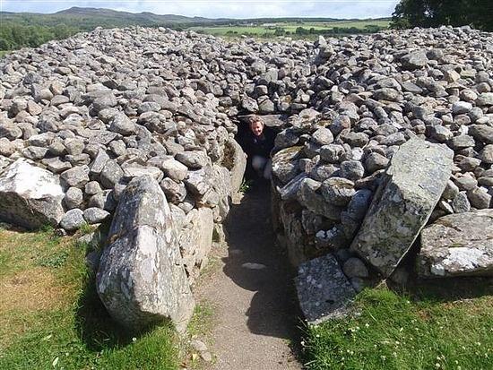 Corrimony Cairn - 4000 years old, Drumnadrochit, United Kingdom