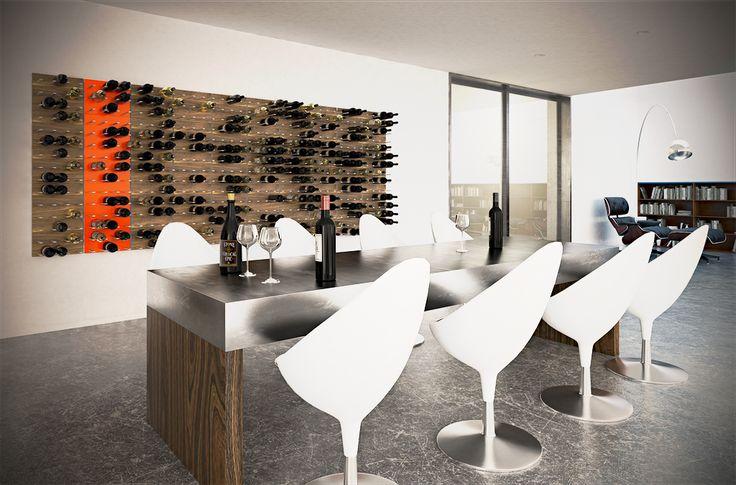 wine-racks-STACT-orange-wood-aluminium