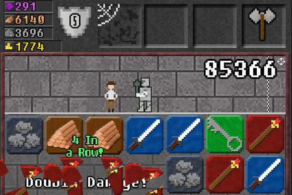 "[REVIEW]: 10000000 is part RPG, part puzzle game, but all fun—dungeon-crawler/role-playing game genre with the ""match-three"" aspects; $2"
