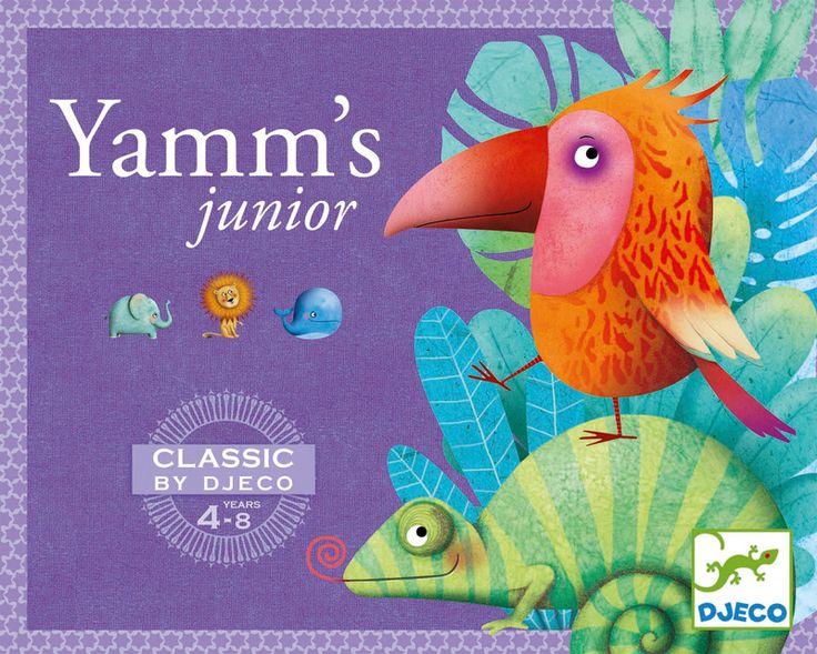 DJ5209 - Yahtzee Junior Game by Djeco. Distributed by Kaleidoscope.
