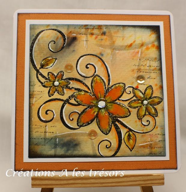 By Carole Dion - DT Magenta: Nouvelle Nuance Mango Tango - Mango Tango new Nuance color