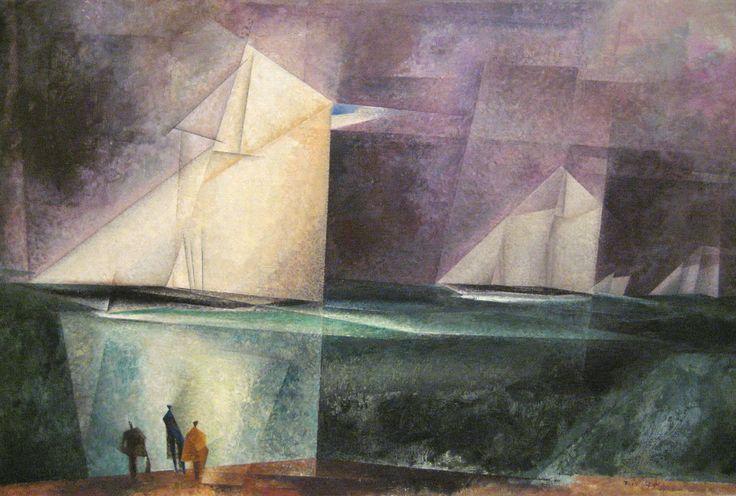 Feininger: 'Glorious Victory of the Sloop Maria'.
