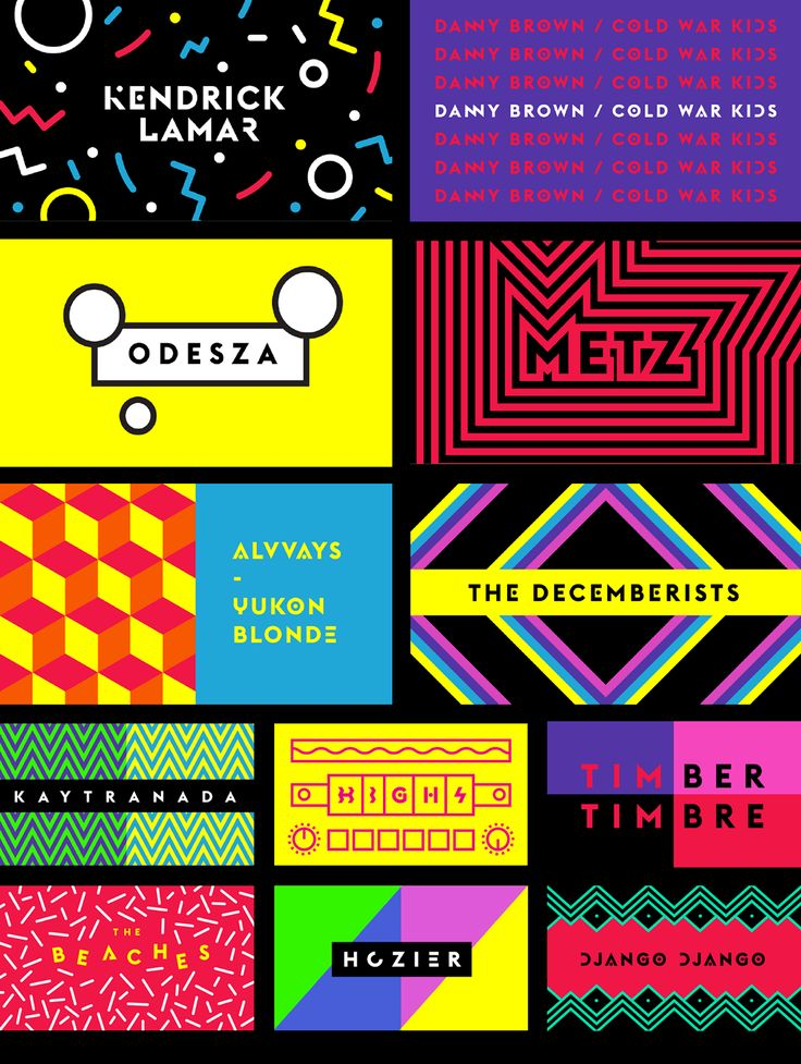 WayHome Music & Arts Festival // Branding & Design on Behance #WayHome