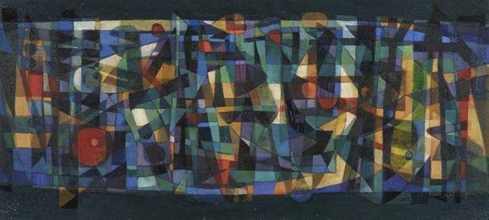 artwork Light Play (Flow Past II) by James Meldrum