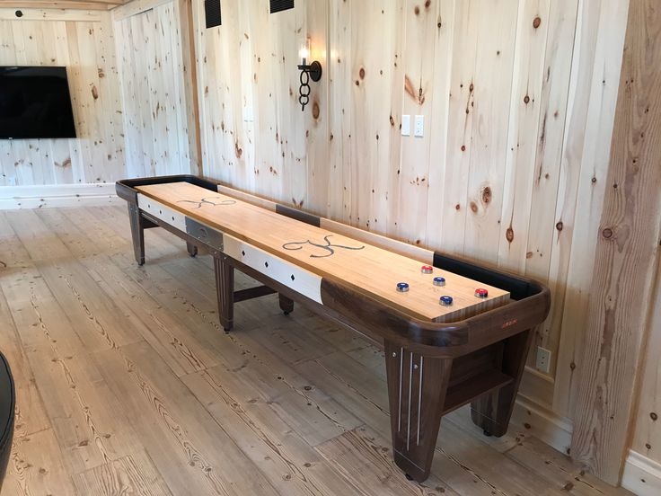 Every Rock Ola Is Hand Made Choose Walnut Cherry Or Hard Maple For The  Cabinet. Shuffleboard TablePersonal ...