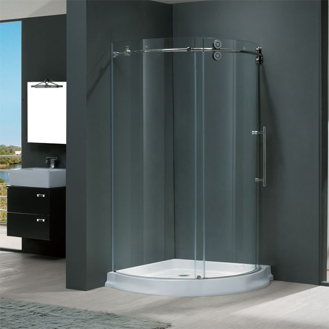Inch Shower Stall Enclosures Round Enclosure