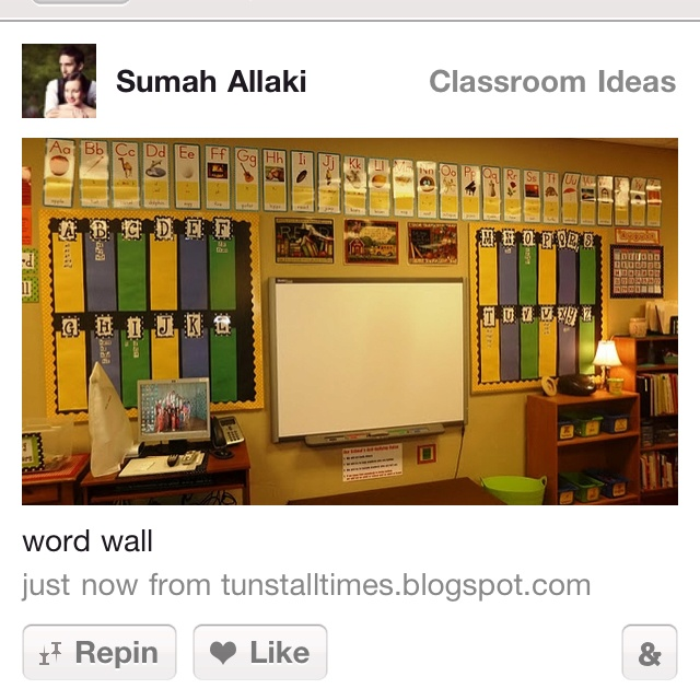 8 best images about Word walls on Pinterest | Happenings, Colored ...