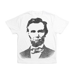 Abraham Lincoln Vintage Portrait Men's All Over Pr