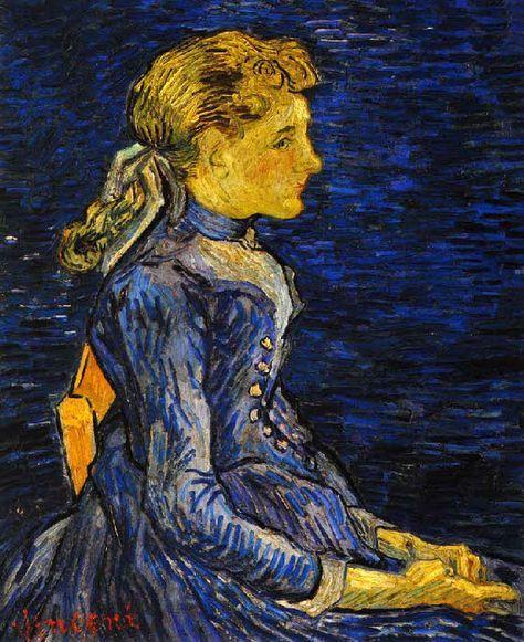 Vincent Van Gogh - Post Impressionism - Auvers - Mademoiselle Ravoux - 1890