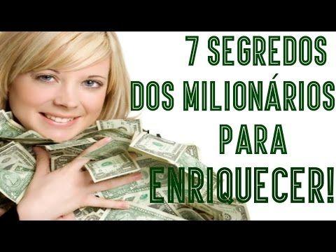Como Ter Visão de Milionário Pra Conquistar Muitas Riquezas - YouTube