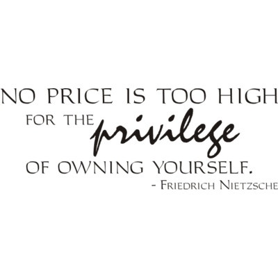 No price is too high for the privilege of owning yourself. - Friedrich Nietzsche http://www.amazon.com/The-Reverse-Commute-ebook/dp/B009V544VQ/ref=tmm_kin_title_0