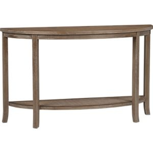 Blake Grey Wash Console Table in Tables | Crate and Barrel