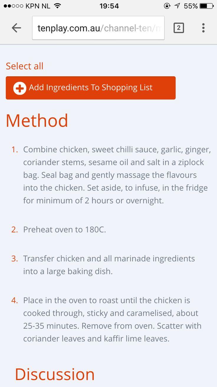 Masterchef Australia 2015 Chili chicken 2/2