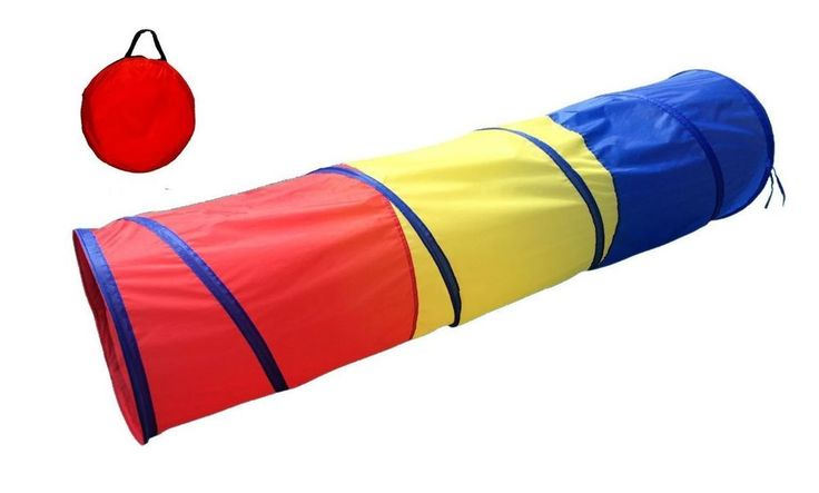 Tunnels For Kids And Play Tents Pop Up Discovery Cat Tube Toys Children Playtent #PocoDivo