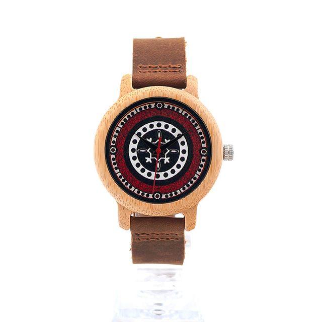 2017 BOBO DE AVES Brand relojes de las mujeres de 37 mm de madera de bambú de las señoras de pulsera Mujer Reloj Señora reloj de cuarzo relojes de la mujer RELOGIO feminino-in de los relojes en Aliexpress.com | Grupo Alibaba