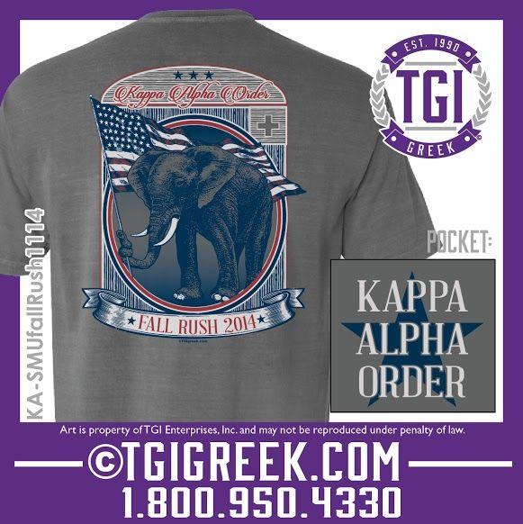 TGI Greek - Kappa Alpha Order - Fall Rush - Comfort Colors - Greek T-shirts #tgigreek #kappaalphaorder