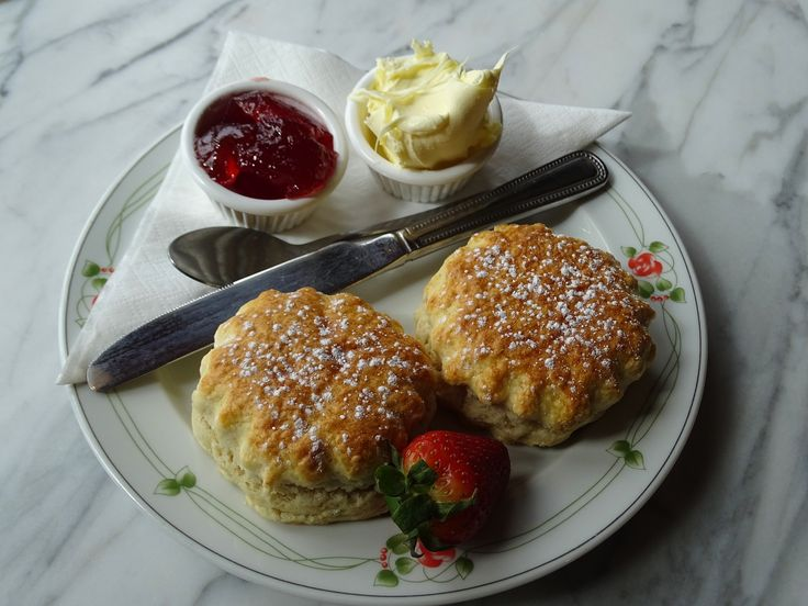 A scone is a single-serving quick bread/cake, usually made of wheat, barley or oatmeal with baking powder as a leavening agent and baked on sheet pans. A scone is often lightly sweetened and occasionally glazed with egg wash.   #eggwash #glazed #quickbread #recipe #recipes #scone #wheat