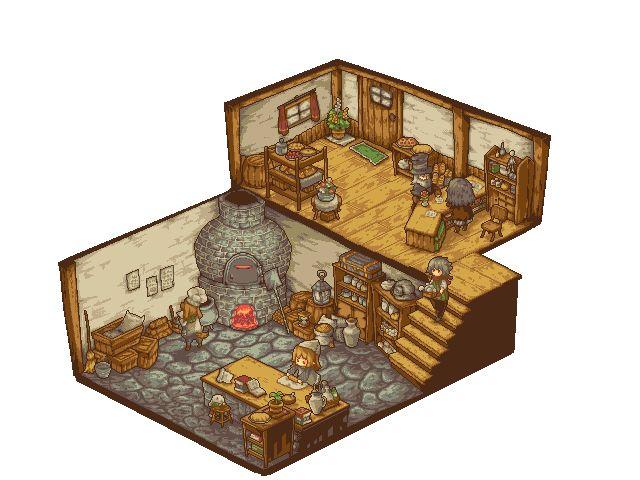A Small Bakery by noaqh.deviantart.com on @DeviantArt