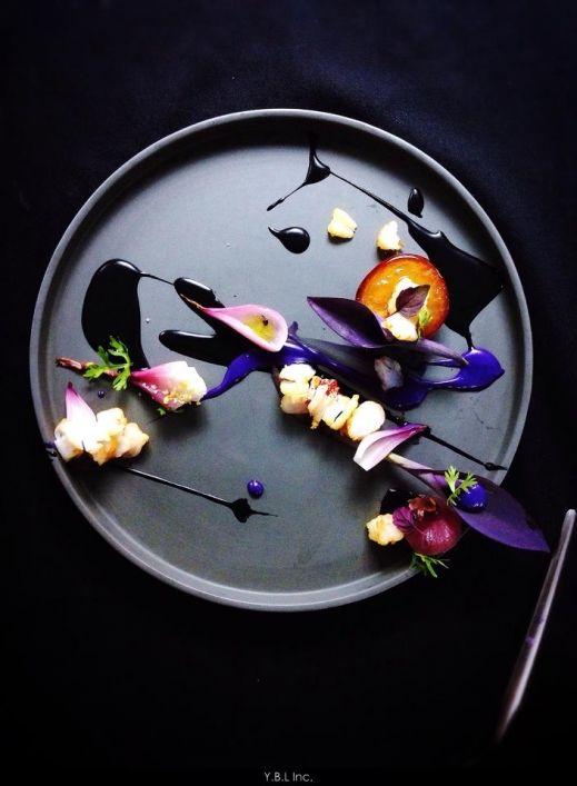 Pretty.  Looks like a Kandinsky or Miro to me.  (Yann Bernard Lejard - The ChefsTalk Project)