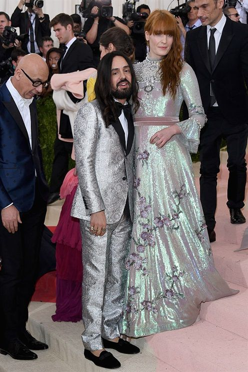 Alessandro Michele e Florence Welch