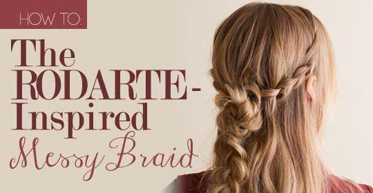 Rodarte Inspired Messy Braid Tutorial - My Newest Addiction Like this.