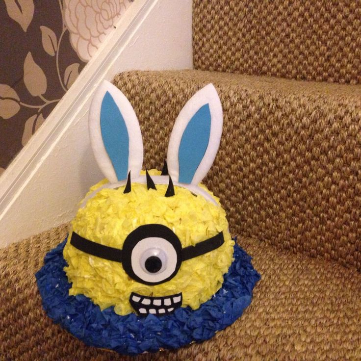 easter hat minion bonnet hand made suit boy / girl in Home, Furniture & DIY, Celebrations & Occasions, Other Celebrations & Occasions   eBay