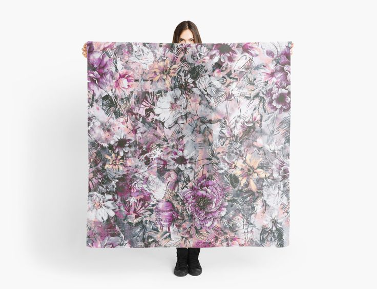 Surreal Garden by RIZA PEKER #floral #abstract #women #fashion